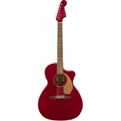 FENDER NEWPORTER PLAYER GUITARRA ELECTROACUSTICA CANDY APPLE RED