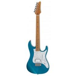 IBANEZ AZ2204F TAB PRESTIGE GUITARRA ELECTRICA TRANSPARENT AQUA BLUE