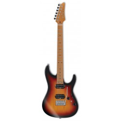 IBANEZ AZ2402 TFF PRESTIGE GUITARRA ELECTRICA TRI FADE BURST FLAT. NOVEDAD