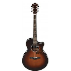 IBANEZ AE205 BS GUITARRA ELECTROACUSTICA BROWN SUNBURST