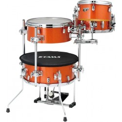 TAMA CJB46 BOS COCKTAIL JAM MINI BATERIA ACUSTICA ORANGE SPARKLE