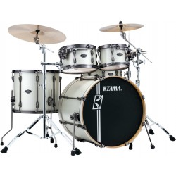TAMA ML42HLZBNS SAP SUPERSTAR MAPLE HYPER DRIVE BATERIA ACUSTICA SATIN ARCTIC PEARL