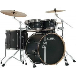 TAMA ML42HLZBNS FBK SUPERSTAR MAPLE HYPER DRIVE BATERIA ACUSTICA NEGRO MATE