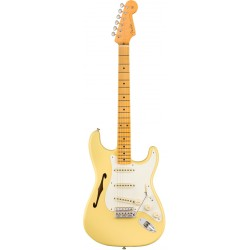 FENDER ERIC JOHNSON THINLINE STRATOCASTER MN GUITARRA ELECTRICA VINTAGE WHITE