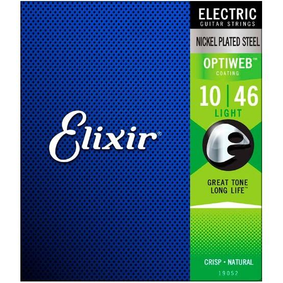ELIXIR 19052 OPTIWEB SUPERLITE JUEGO CUERDAS GUITARRA ELECTRICA 010-046