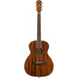 FENDER PM-TE STD TRAVEL ALL MAHOGANY GUITARRA ELECTROACUSTICA