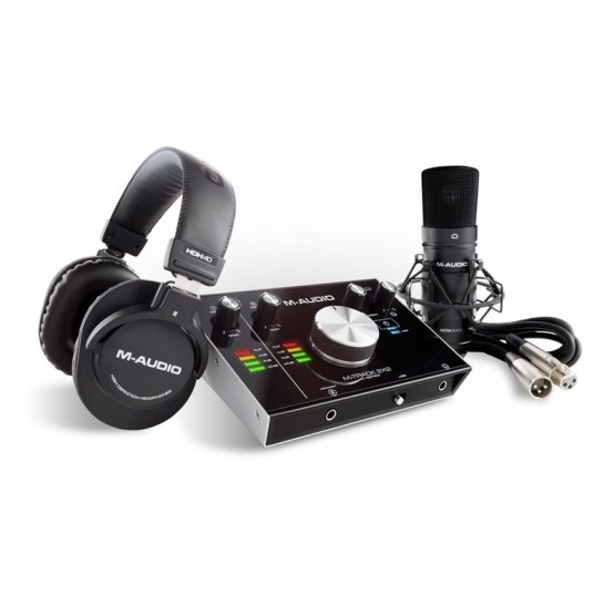 M AUDIO MTRACK2X2 VOCALSTUDIO PRO PACK INTERFAZ AUDIO