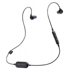 SHURE SE112-K-BT1-EFS AURICULARES IN EAR AISLANTES CON MICROFONO BLUETOOTH NEGROS.