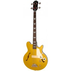 EPIPHONE JACK CASADY BASS MG BASS COLLECTION BAJO ELECTRICO METALLIC GOLD TOP. DEMO.