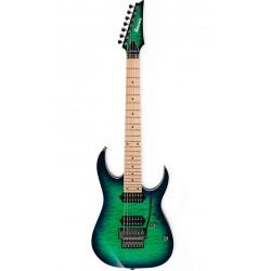 IBANEZ RG752MQM SLG PRESTIGE GUITARRA ELECTRICA 7 CUERDAS SURREAL BLUE BURST