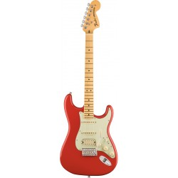 FENDER AMERICAN SPECIAL STRATOCASTER HSS MN GUITARRA ELECTRICA FIESTA RED.