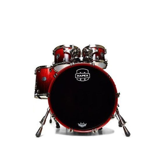 MAPEX SV504XBKLE SATURN BATERIA ACUSTICA CHERRY MIST MAPLE BURL