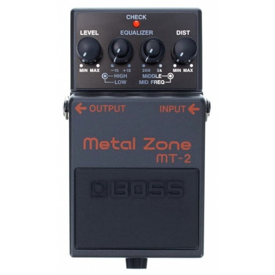 BOSS MT2 METAL ZONE PEDAL DISTORSION