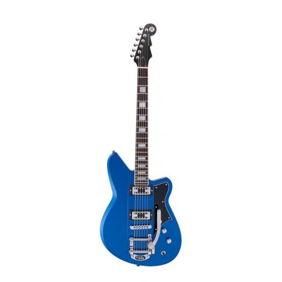 REVEREND WARHAWK RT SB SET NECK GUITARRA ELECTRICA SUPERIOR BLUE