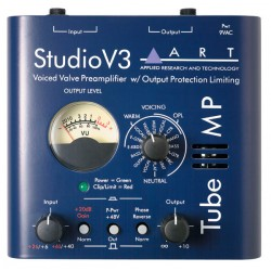 ART TUBE MP STUDIO V3 PREVIO MICROFONO