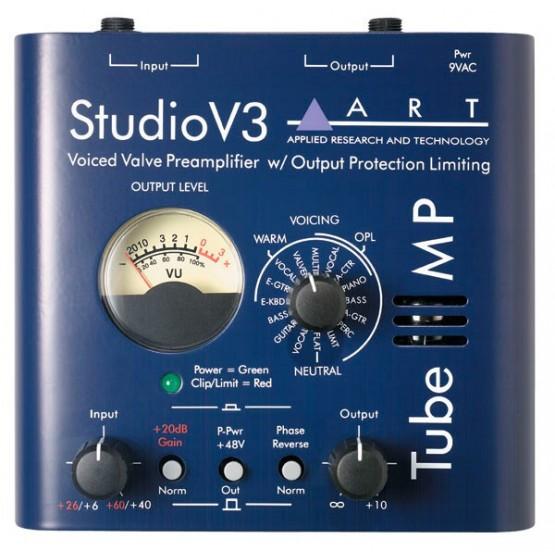 ART TUBE MP STUDIO V3 PREVIO MICROFONO
