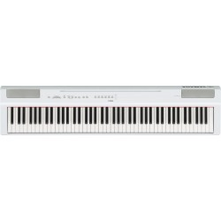 YAMAHA P125 WH PIANO DIGITAL PORTATIL BLANCO. NOVEDAD