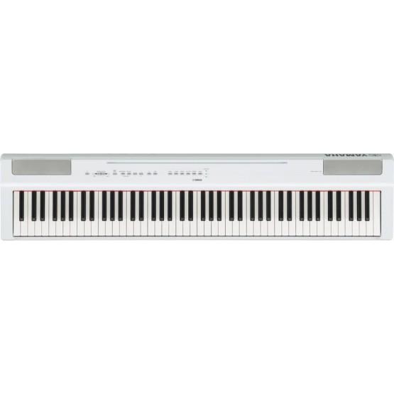 YAMAHA P125 WH PIANO DIGITAL PORTATIL BLANCO