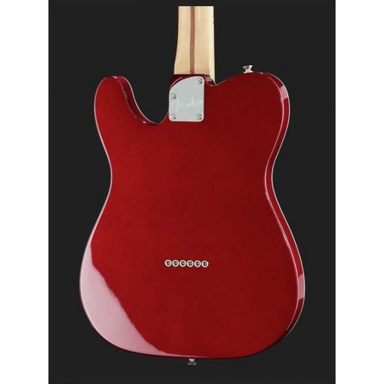 FENDER DELUXE THINLINE TELECASTER MN GUITARRA ELECTRICA CANDY APPLE RED.