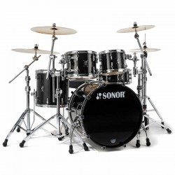 SONOR PROLITE STUDIO 1 WM BRB BATERIA ACUSTICA BRILLIANT BLACK