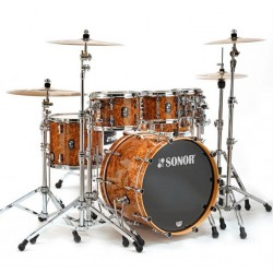 SONOR PROLITE STUDIO 1 WM CHB BATERIA ACUSTICA CHOCOLATE BURL