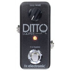 TC ELECTRONIC DITTO LOOPER PEDAL.