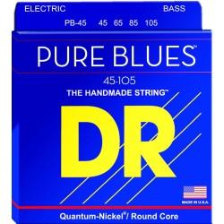 DR STRINGS PB45 PURE BLUES JUEGO DE CUERDAS PARA BAJO 45-105