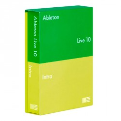 ABLETON LIVE 10 INTRO EDITION RETAIL SOFTWARE PRODUCCION MUSICAL