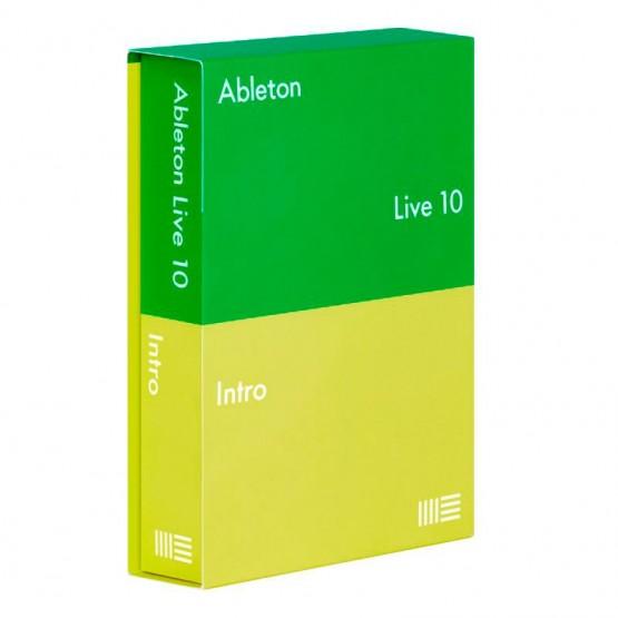 ABLETON LIVE 10 INTRO EDITION RETAIL SOFTWARE PRODUCCION MUSICAL