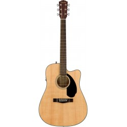 FENDER CD60SCE NATURAL GUITARRA ELECTROACUSTICA DREADNOUGHT.