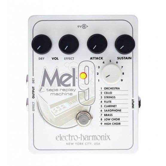 ELECTRO HARMONIX MEL9 PEDAL TAPE REPLAY MACHINE