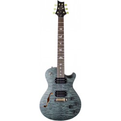 PRS SE ZACH MYERS SATIN QUILT STEALTH GREY GUITARRA ELECTRICA