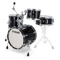 SONOR AQ2 MARTINI SET TSB BATERIA ACUSTICA TRANSPARENT STAIN BLACK