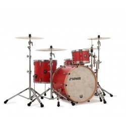 SONOR SQ1 324 SET NM HRR BATERIA ACUSTICA HOT ROD RED