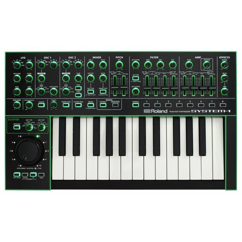 Roland System 1 Sintetizador Aira Precio Tienda Online