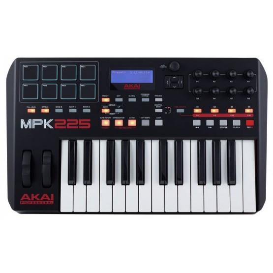 AKAI MPK225 TECLADO CONTROLADOR USB MIDI 25 TECLAS