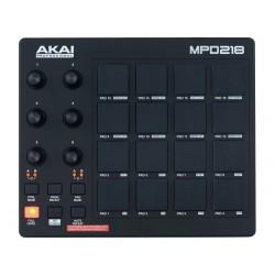 AKAI MPD218 CONTROLADOR USB MIDI 16 PADS