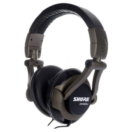 SHURE SRH550 DJ AURICULARES
