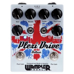 WAMPLER PLEXIDRIVE DELUXE PEDAL OVERDRIVE