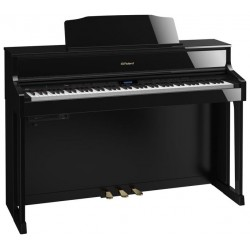 ROLAND HP605 PE PIANO DIGITAL NEGRO PULIDO