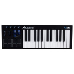 ALESIS V25 TECLADO CONTROLADOR MIDI USB 25 TECLAS