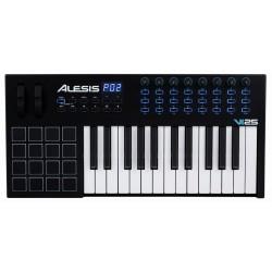 ALESIS VI25 TECLADO CONTROLADOR MIDI USB 25 TECLAS