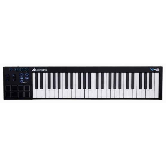 ALESIS V49 TECLADO CONTROLADOR MIDI USB 49 TECLAS