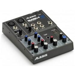 ALESIS MULTIMIX 4 USB MESA DE MEZCLAS 4 CANALES CON USB
