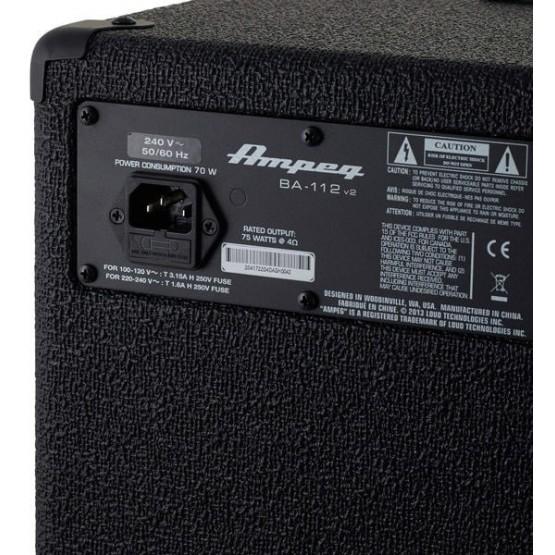 AMPEG BA112 V2 AMPLIFICADOR BAJO.