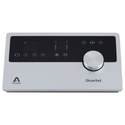 APOGEE QUARTET INTERFAZ DE AUDIO PARA IOS MAC 4 IN X 8 OUT