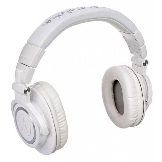 AUDIO TECHNICA ATHM50X WH AURICULARES PROFESIONALES DE ESTUDIO BLANCO