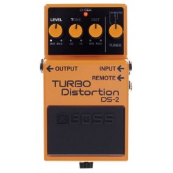 BOSS DS2 PEDAL TURBO DISTORSION