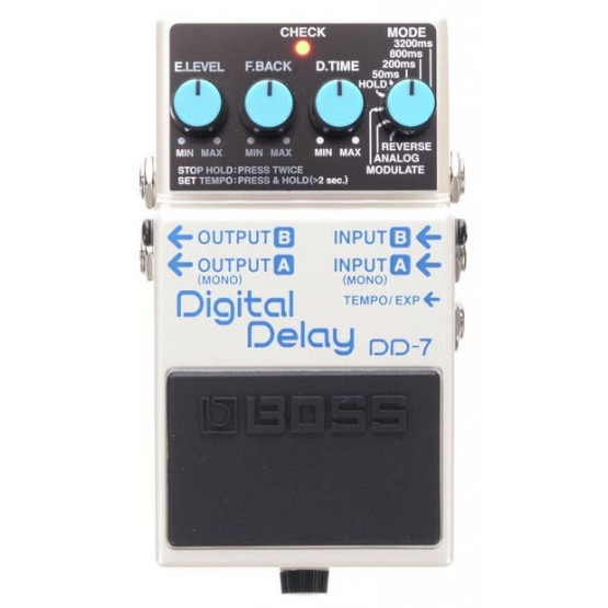 BOSS DD7 PEDAL DELAY DIGITAL