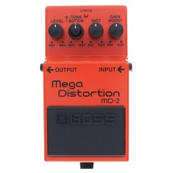 BOSS MD2 MEGA DISTORSION PEDAL